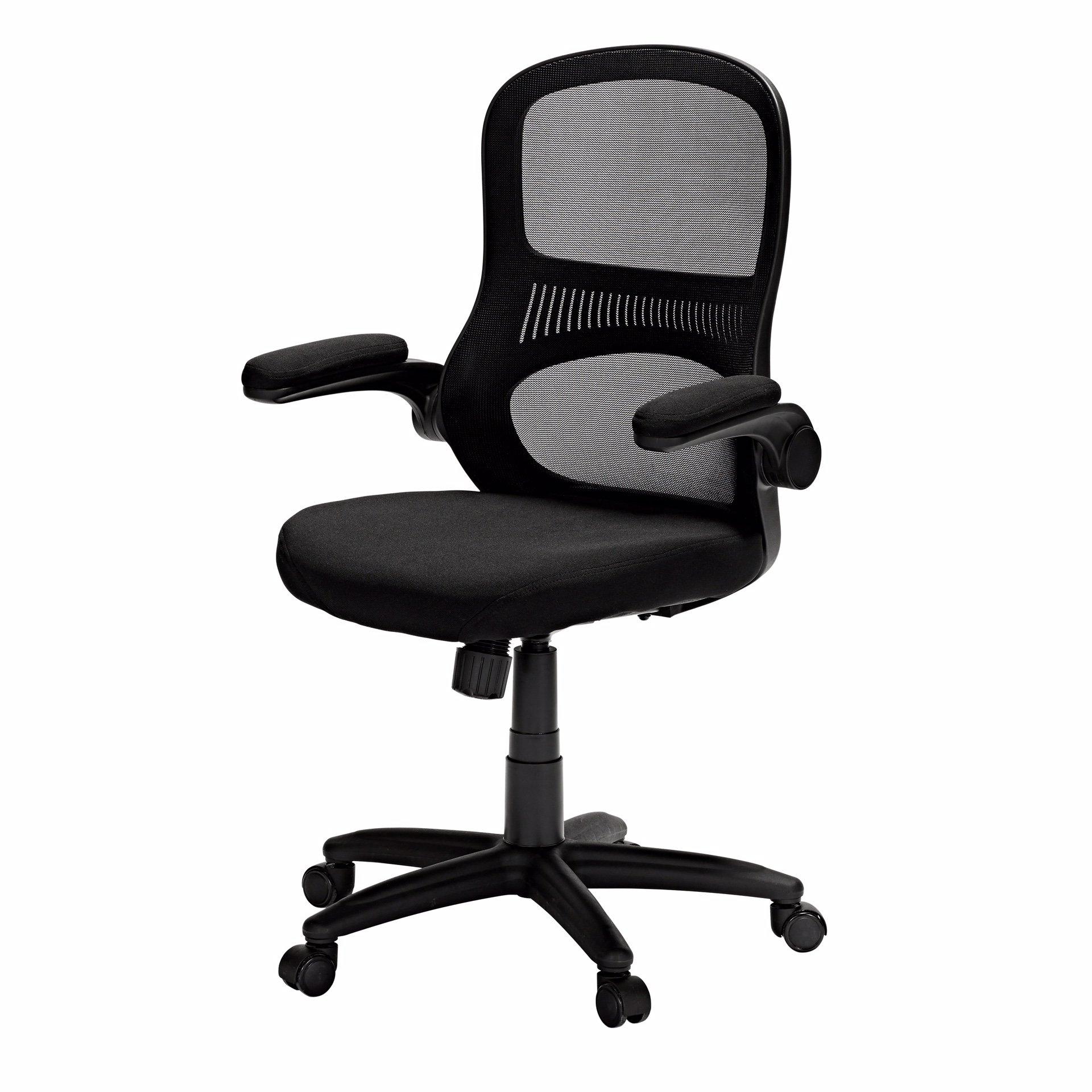 Vega Mesh Back Chair with Black Frame